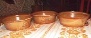 kerámia sütő tál