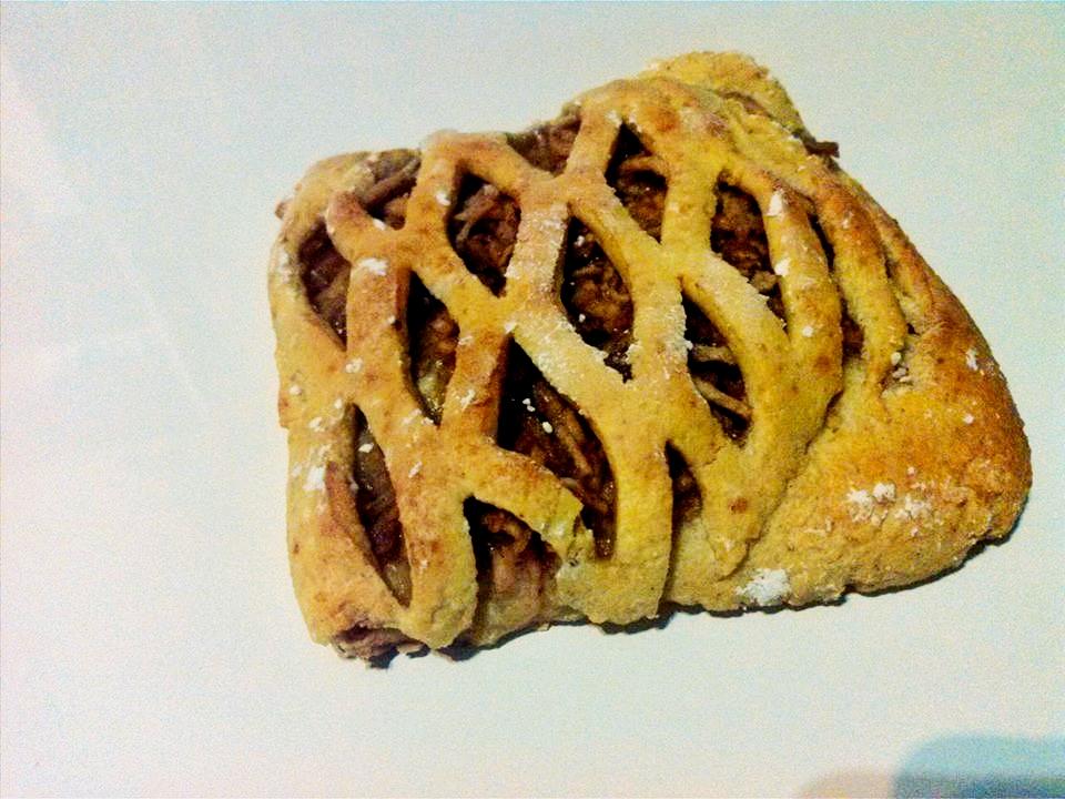 almás rácsos párna 1