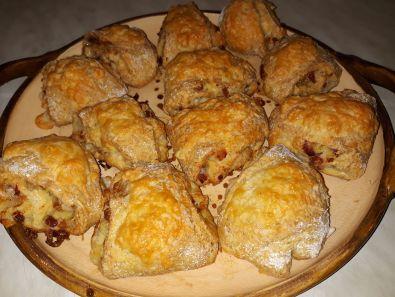 Anya baconos sajtos tekercse 1