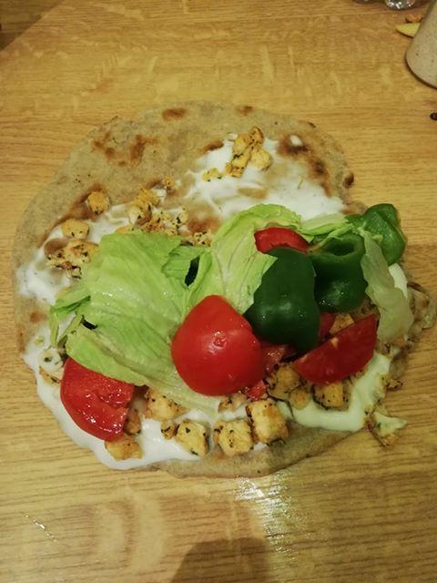 Füzesiné Melinda univerzális vegan tortilla