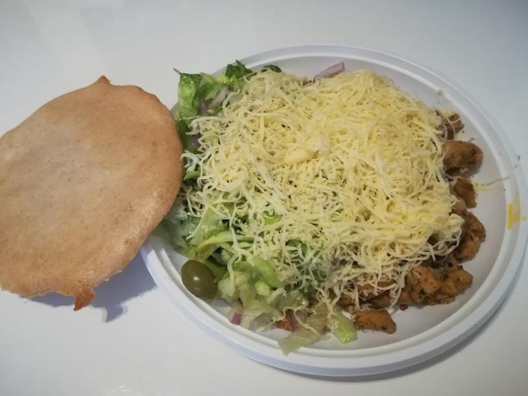 sajtos gyros tál pitával 2