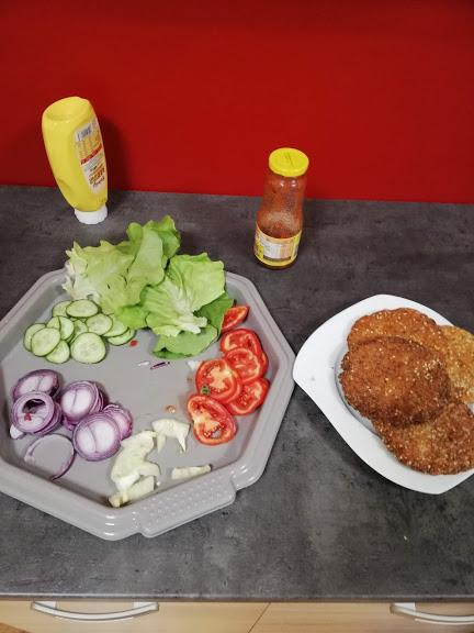 vegan hamburger 1