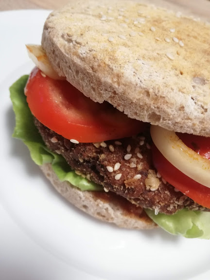 vegan hamburger 11