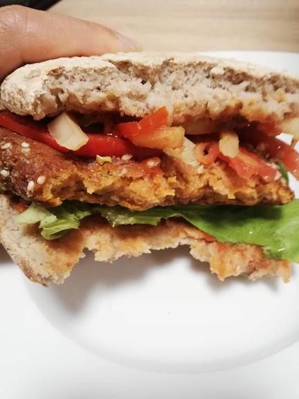 vegan hamburger 12