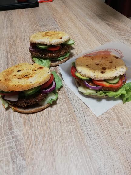 vegan hamburger 3