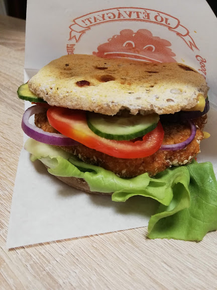 vegan hamburger 4