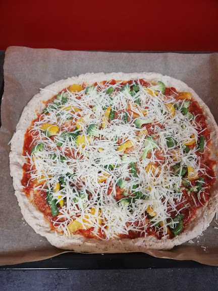 Vegan pizza 2